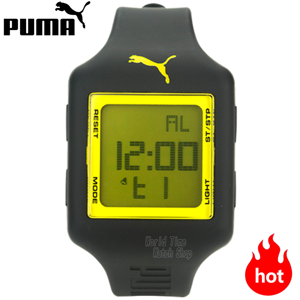 PUMA WATCH sports wind series square screen multi - function electronic male watch PU910791002 PU910791001 PU910791010 puma watch unlimited series of quartz electronic movement male watch pu911261001 pu103461002 pu103461015 pu103931001 pu910541016