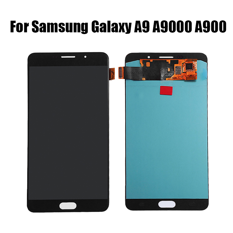 Super AMOLED LCD For Samsung Galaxy A9 LCD Display Touch Screen Digitizer Assembly For A9 A9000 A900 SM-A9000 LCD Screen