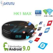 HK1 MAX Smart Tv Box Android 9.0 Set Top Box 4K Mini
