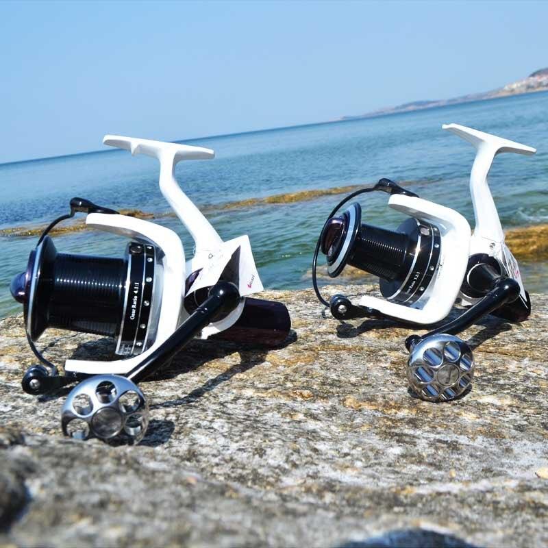 pesca do mar carretilhas roda moldada molinete peixe