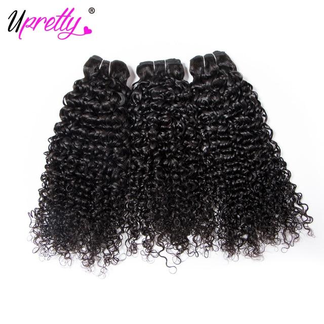 Upretty Hair Peruvian Curly Hair 3 Bundles Deals 100 Remy Human
