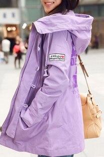 Женщины плащ пальто без тары кепка закрытый воротник винтажный свободного покроя пальто женщина плащ пальто фиолетовый, Армейский зеленый, Желтый