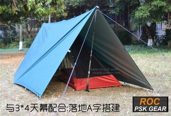 3F UL GEAR Ultralight Tarp Outdoor Camping Survival Sun Shelter Shade Awning Silver Coating Pergola Waterproof Beach Tent 5