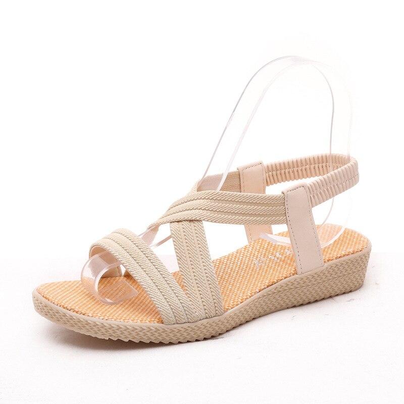 The New Spring Summer 2017 Women Sandals Flat Sandals Fish ...
