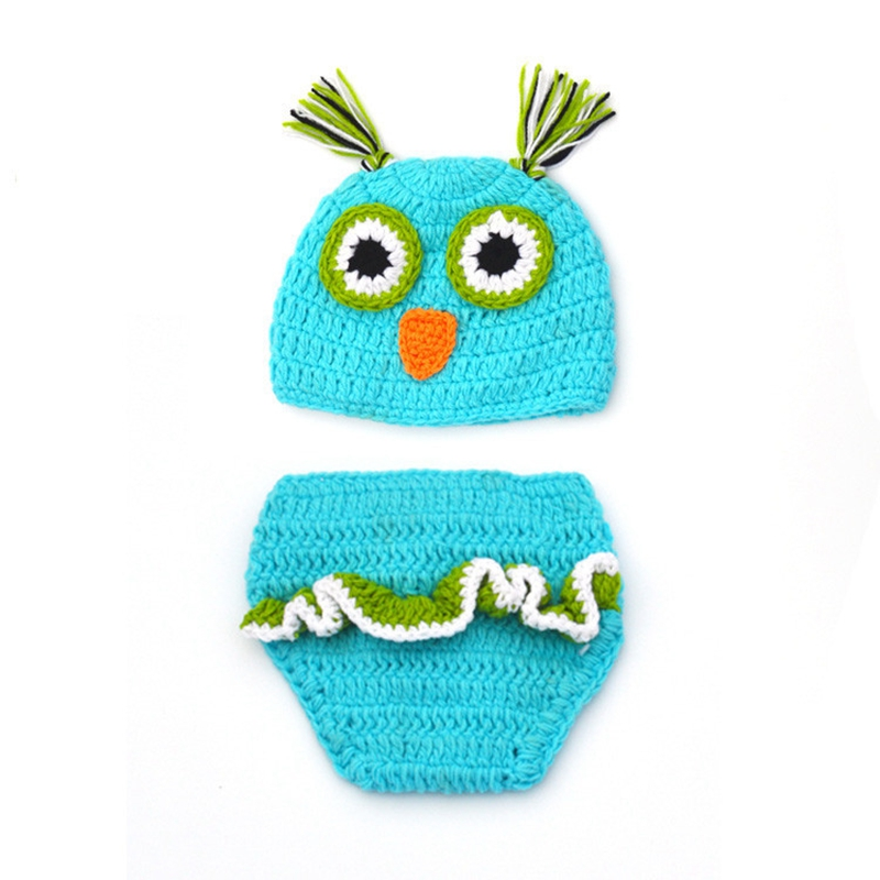Halloween Christmas newborn baby costume photograph accessories party dress up suits cartoon owl cosplay costume for kids