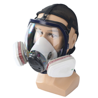 Workplace Safety Supplies Body Gas Mask No filter Dust Respirator Paint Industrial Working Safety Security Protective Gas Mask