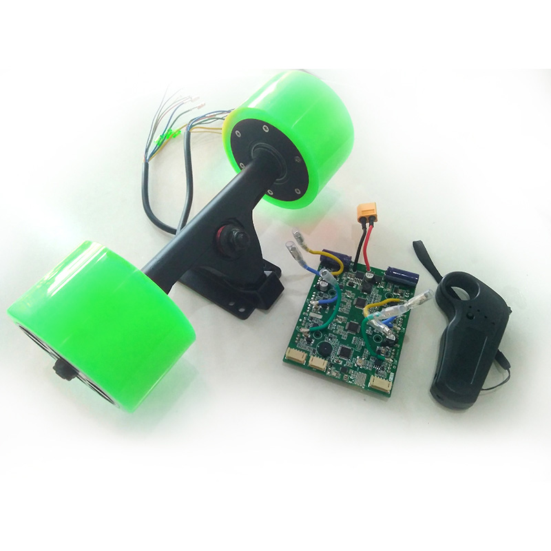 Электрлік скейтборд 24V 36 вольт Екі - Роликтер, скейтбордтар және скутерлер - фото 4