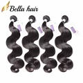 Bella Hair 4 Bundles 9A Grade Virgin Unprocessed Human Hair Body Wave Brazilian Body Wave One Donor Brazilian Hair Weave Bundles