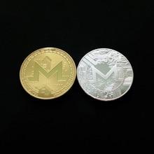 Monroe Coin Gold Plated Bitcoin Coin Collectible Gift BTC Coin Art Collection Physical casascius bit coin bitcoin bronze physical bitcoins coin collectible gift btc coin art collection physical