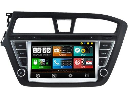 Wince 6 0 CAR DVD PLAYER Sunplus 8288T solution FOR HYUNDAI i20 left Autoradio stereo multimedia