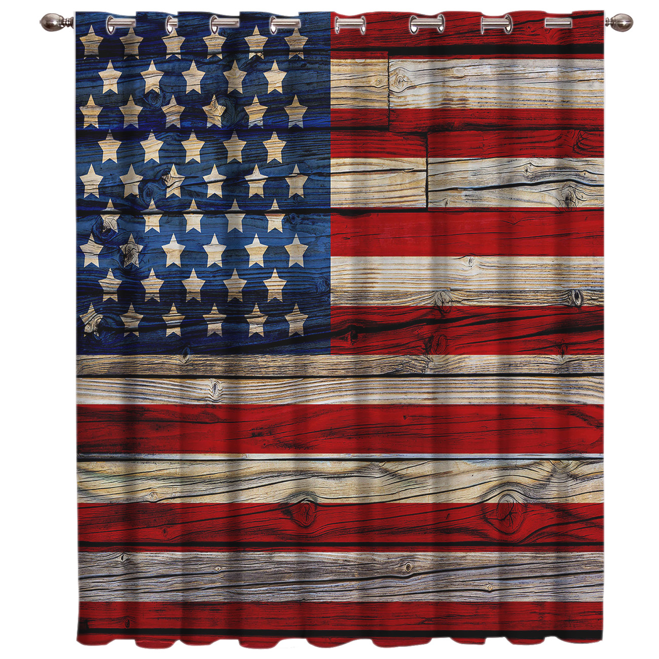 American Flag Window Treatments Curtains Valance Room Curtains Large Window Window Curtains Dark Window Blinds Outdoor Bedroom