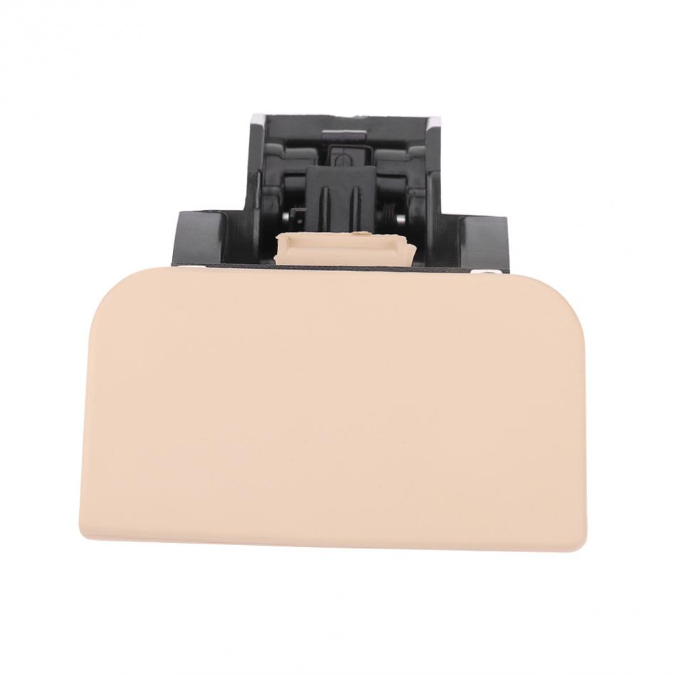 Car Glove Box Lock Latch Lid Handle No Hole Beige Color for Volkswagen Polo 2005 2006