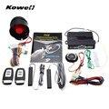 Система сигнализации KOWELL для автомобиля  Пассивный пульт дистанционного управления  кнопка запуска/остановки двигателя  переключатель заж...