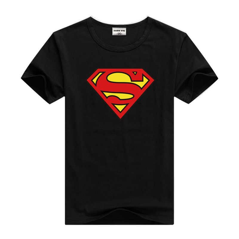 DMDM PIG Batman Supermanแขนสั้นเสื้อยืดสำหรับสาวสาวเสื้อเด็กเสื้อผ้าTShirtขนาด 2 3 4 5 ปีเสื้อผ้าเด็กTee