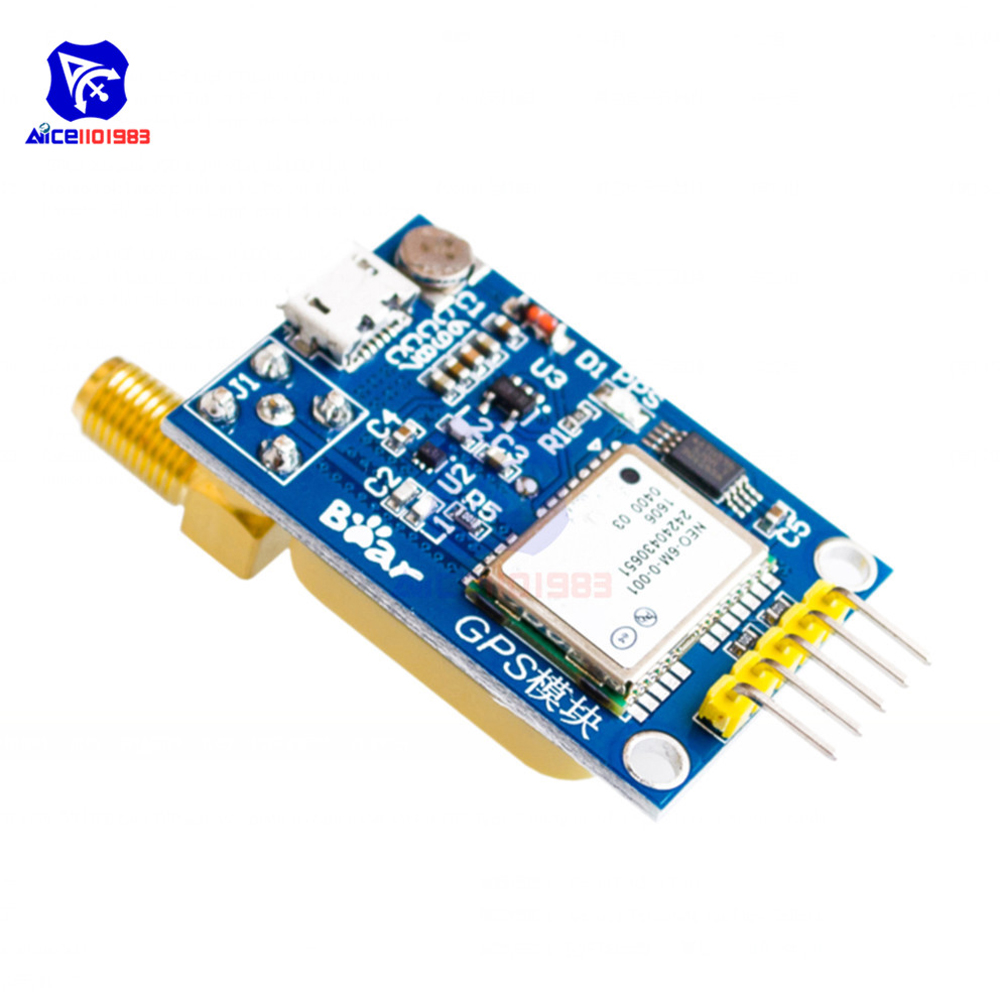 GPS Mini NEO-6m Satellite Positioning Module 51 SCM MCU for Arduino STM32 C51