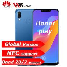 Orijinal Huawei Onur Oyun cep telefonu 4G 64G 6.3 inç Octa Çekirdek Cep Telefonu Çift Arka Kamera oyunu telefonu Parmak Izi Yüz ...
