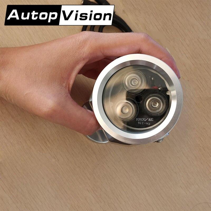 FH239 5 шт. ИК-осветители Применение с камеры наблюдения ночного видения долгое время срок службы СВЕТОДИОДА Серебряный ИК-свет Лидер продаж