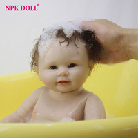 50cm Reborn Dolls Real Looking Boy Baby alive Dolls Full Silicone Complete Body Vinly Shower Dolls Children Gift Bath Toys