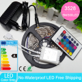 Non-waterproof RGB Led Strip Light 5M 300Leds 3528 DC12V Flexible Lighting String Ribbon Tape Lamp Home Decoration Lamp