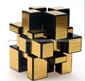 Golden 3x3x3 Magic Cube Professional Ultra-smooth Speed Twisty Puzzle Toy FreeShipping KTK