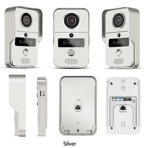 Image 2 - بطاقة SD اللاسلكية تسجيل الفيديو الفيديو باب الهاتف + تتفاعل Keyfobs IP جرس الباب كاميرا بو ل ONVIF الاتصال NVR