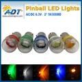 100 units 2*5630 SMD Pinball led Lamp AC 6.3V