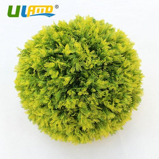 Decorative Boxwood Balls Delectable Uland Artificial Boxwood Balls Faux Topiary Sphere Plastic Plants Inspiration Design