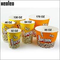 Popcorn Xô 32 oz/46 oz/64 oz/85 oz/130 oz/170 oz Bỏng Ngô hộp hộp Kẹo Bỏng Ngô Container cho Đảng Thực Phẩm Đóng Gói Bán Buôn