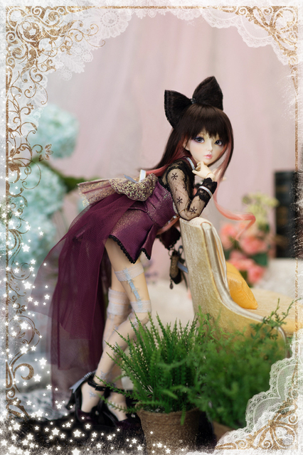 stenzhornBJD doll SD doll 4 points baby fairyland 1/4 doll Celine joint doll 4