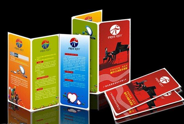A4 folletos trípticos flyersleaflets impresión con papel