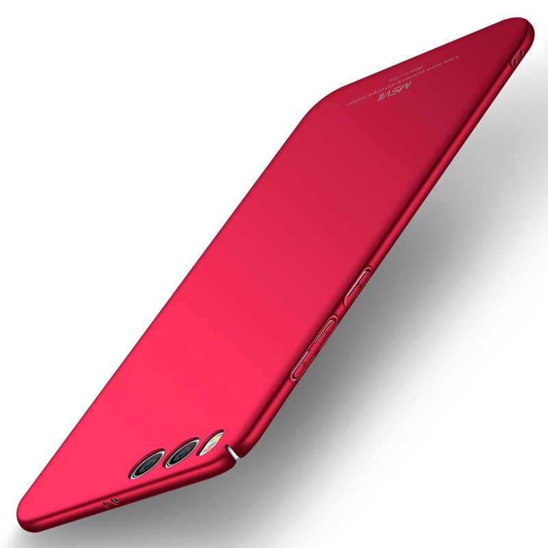 Оригинальный MSVII чехол для Xiaomi mi 6 Xiaomi mi 6 чехол Роскошный Тонкий Жесткий ПК Матовый задняя крышка для Xiaomi mi 6 Coque mi 6 Funda