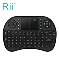 Rii i8 Inteligente 2.4G 92 teclas Mini teclado QWERTY inalámbrico Multi-touch cojín de ratón gaming Keyboard para Android TV Box HTPC PC Pad