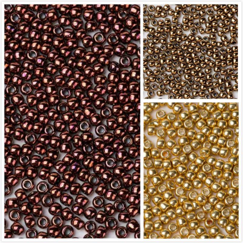 Taidian Toho Japanese DIY Loose Glass Seedbeads For Beaded Bracelet Dark  Bronze 222 11 0 9eb27bbe564f