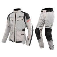 SCOYCO мотоциклетные куртки и брюки для девочек летние дышащие защита от падения мотоциклов мотокроссу костюмы мотоциклист