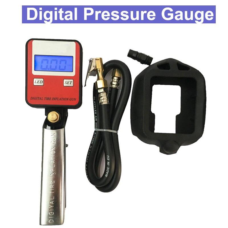 SP New Digital LCD Battery Tyre Inflator Gun Meter/Pressure Monitor Gauge/Inflated Deflated Pressure test LCD Tyre Gauge-in Pressure Monitors from Tools    1
