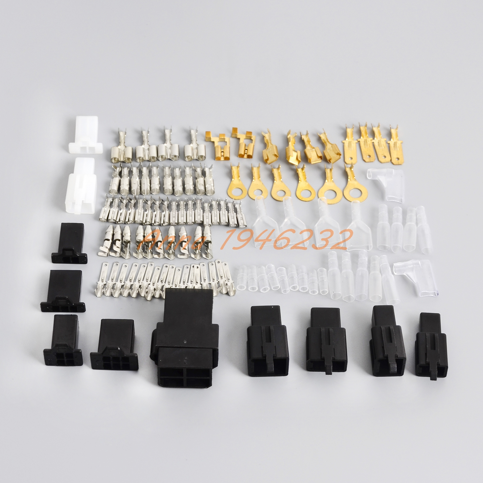 hight resolution of electrical wiring harness loom repair kit plugs bullets for honda nc50 cb500 cbr250 vf750 cb125 cb250