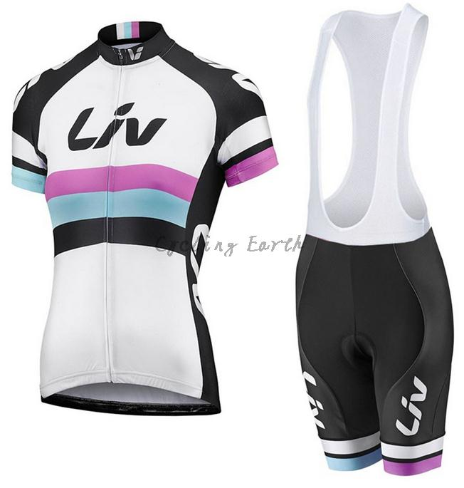 Pro HQ 2016 #2 women short sleeve cycling jersey bib shorts shirt set bicycle clothes jersey ropa ciclismo,silicone pad
