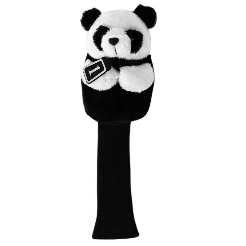 Cute Golf Head Cover Protective Headcover Animal Golf Accessories Mascot Novelty Cute Gift  For No.1 Driver