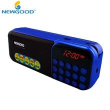 Mini Portable Radio Digital Radio receiver LCD Display FM Stereo Audio MP3 Music Radio Player For TF Card
