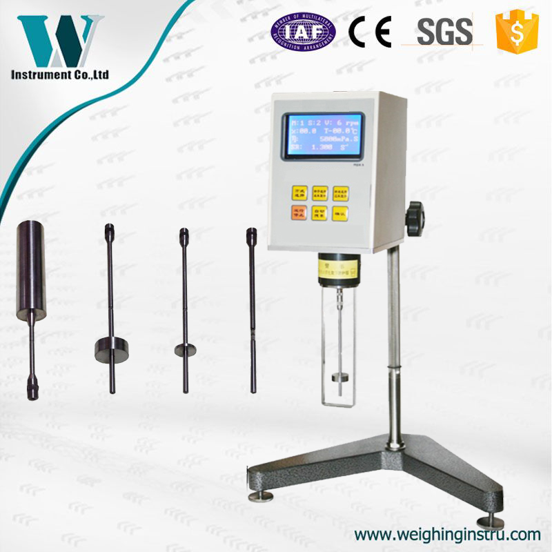 Free Shipping To Brazil Peru Argentina Colombia Rotary Digital Viscometer Viscosity Tester Rv-2m 0.1~2000000 Mpa.s