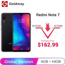 "Versión Global Xiaomi Redmi Note 7 4GB 64GB SmartPhone Snapdragon 660 Octa Core 48MP Cámara Dual 6,3"" 19,5: 9 Pantalla Completa 4000mAh(Hong Kong,China)"