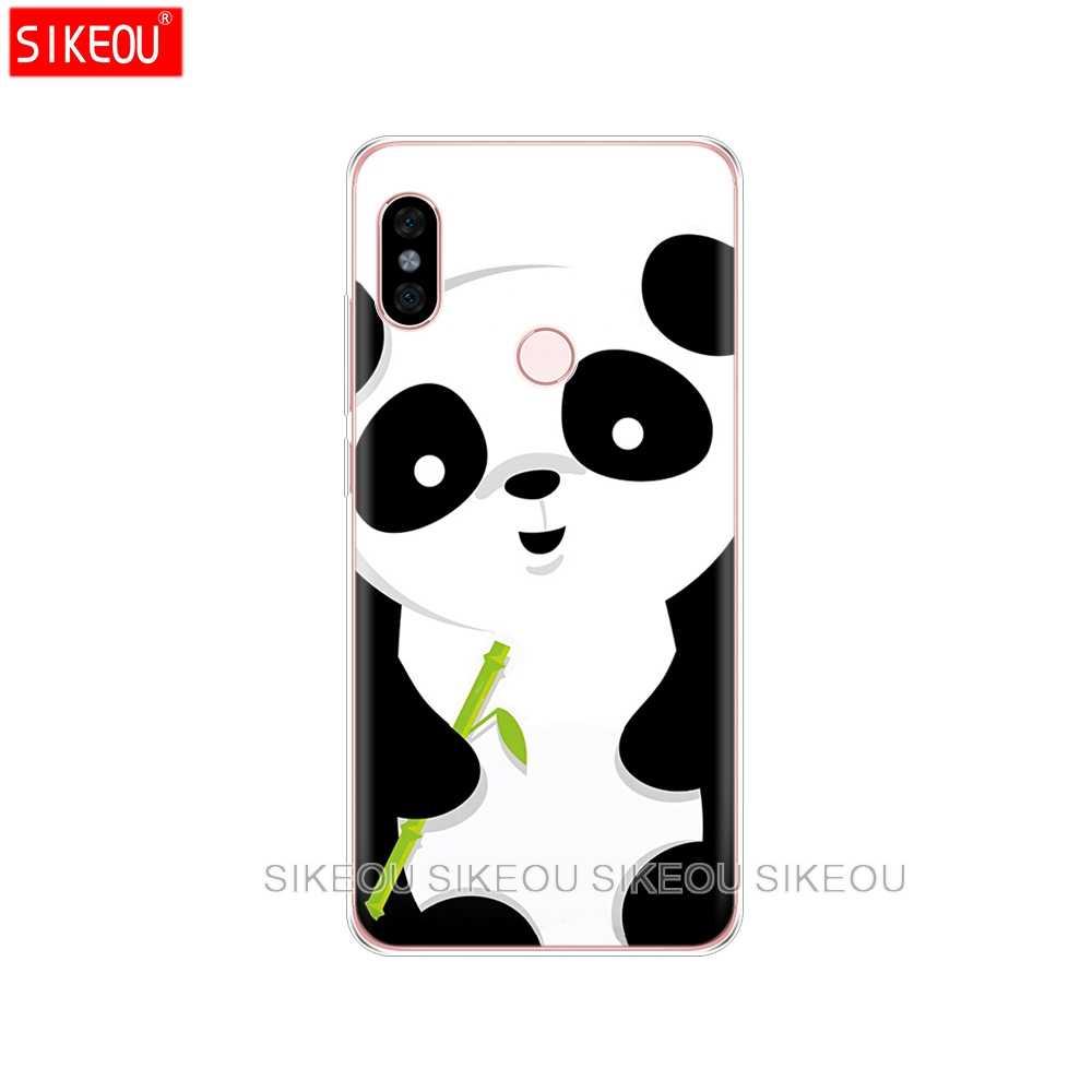 Housse en Silicone étui de téléphone pour xiaomi redmi 5 4 1 1 s 2 3 3 s pro PLUS redmi note 4 4X 4A 5A panda mignon crâne