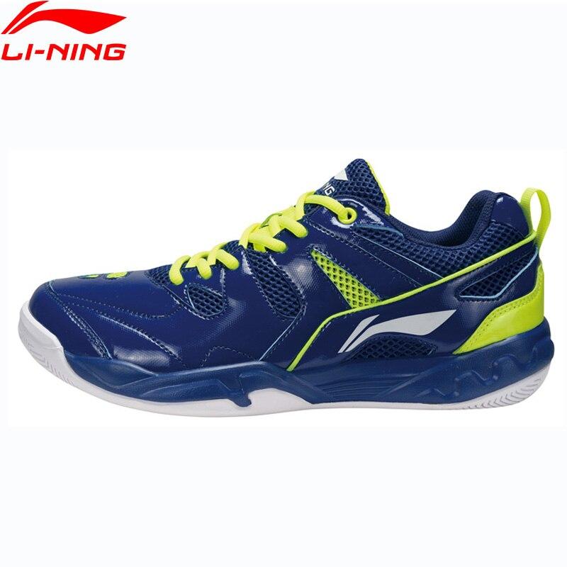 Li-ning zapatos de bádminton para hombre, forro portátil, zapatos deportivos transpirables, cojín, comodidad, zapatillas AYTM069 XYY065