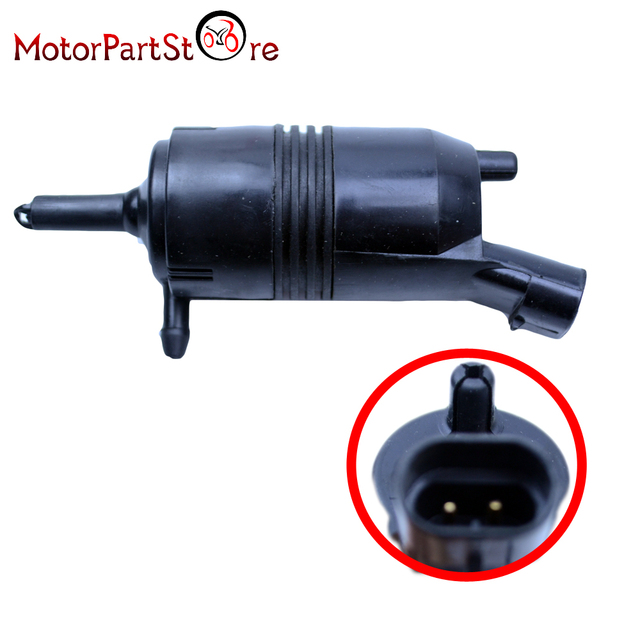 Front Windshield Washer Pump For Buick Chevrolet Gmc Pontiac Truck 89025062