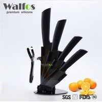 Top Quality Kitchen Knife Set Ceramic Knife Set 3 4 5 6 Inch Peeler Stand Holder