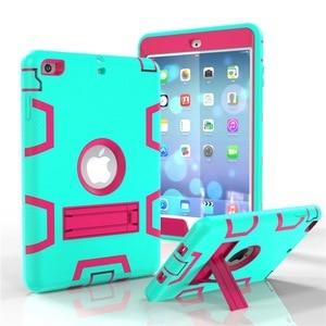 Image 5 - Funda de protección de moda para iPad mini 1 2 3 y niños, funda rígida de silicona resistente para ipad mini 1 2 3 ipad mini 1, 2, 3, 7,9 pulgadas, funda para Tablet + película + bolígrafo