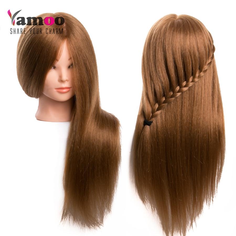 Trenerska glava za salon 60% resnični frizerski lasje za lase - Nega las in styling - Fotografija 3