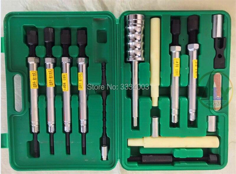 diesel injector copper water jacket dismantling puller tools for EURO II EURO III RENAULTT, diesel injector disassemble tools
