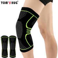 1 Pcs Knie Hülse Unterstützung Beschützer Sport Kneepad Tom der Umarmung Marke Fitness Laufen Radfahren Hosenträger Hohe Elastische Gym Knie pad Warme