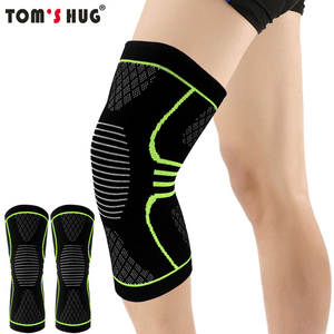 1 Pcs Knee Sleeve Support Protector Sport Kneepad Tom's Hug Brand Fitness Running Cycling Braces High Elastic Gym Knee Pad Warm